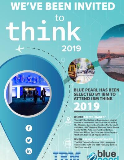 Think 2019 Event Invitation Press Release