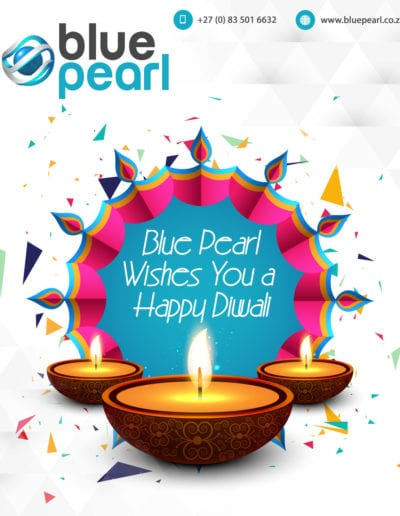Happy Diwali From Blue Pearl